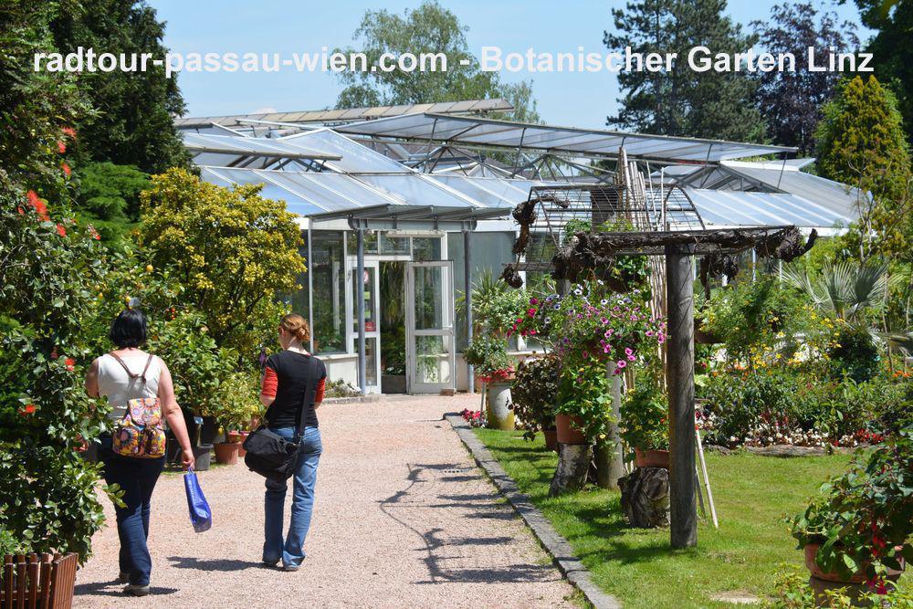 Fietstocht Passau-Wenen - Botanische tuin Linz