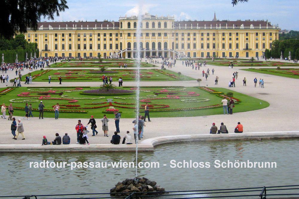 Fietstocht Passau-Wenen - Paleis Schönbrunn