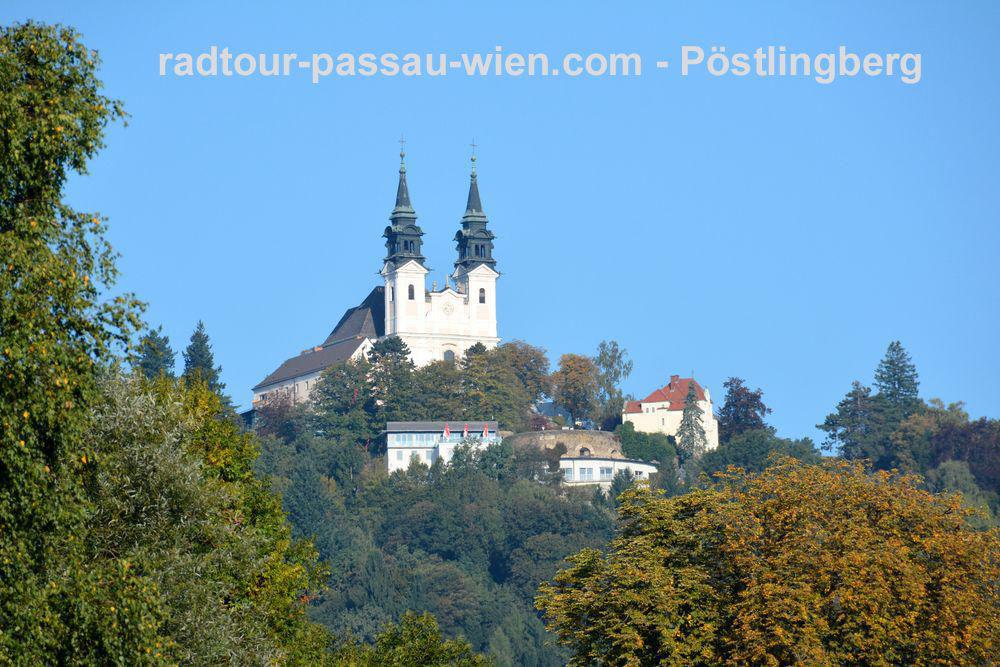 Fietsvakantie Passau-Wenen - Bedevaartskerk Pöstlingberg