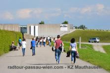 Fietstocht Passau Wenen - Gedenkstätte Mauthausen