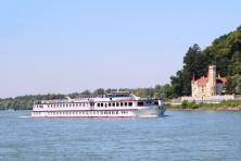De Donau met fiets en schip - MS Normandie