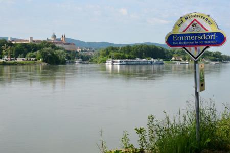 Grote tocht langs de Donau-fietsroute - Melk